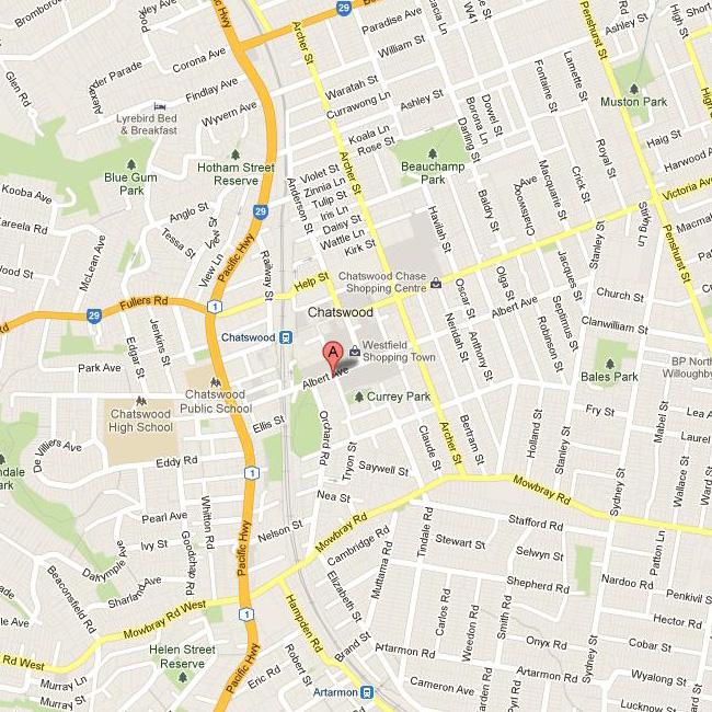 Chatswood_map