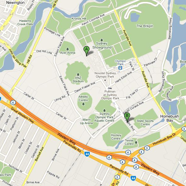 Sydney Olympic Park - Indoor_map